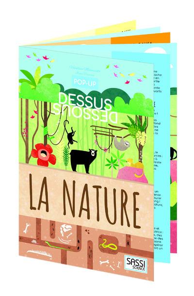 POP-UP DESSUS-DESSOUS - LA NATURE