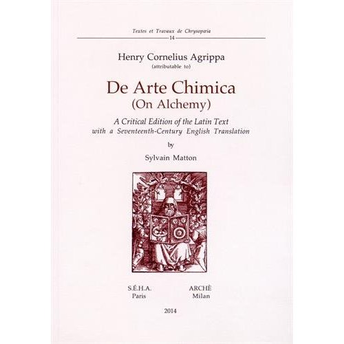 DE ARTE CHIMICA (ON ALCHEMY)