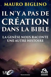 IL N Y A PAS DE CREATION DANS LA BIBLE