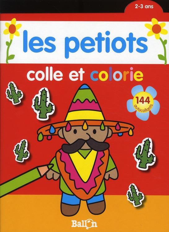 COLLE/COLORIER 2-3 ANS (MEXICA