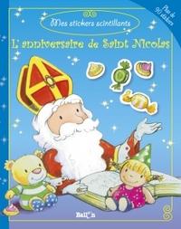MES STICKERS SCINTILLANTS SAINT-NICOLAS-L'ANNIVERSAIRE DE SAINT NICOLAS