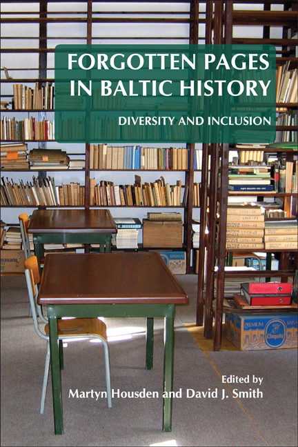 FORGOTTEN PAGES IN BALTIC HISTORY