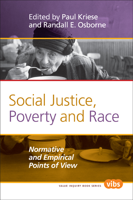 SOCIAL JUSTICE, POVERTY AND RACE