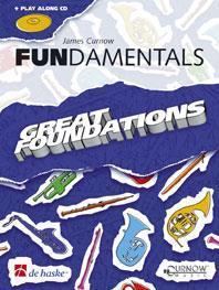 FUNDAMENTALS TROMPETTE / BUGLE / CORNET / BARYTON / TROMBONE CLE DE SOL +CD