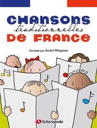 CHANSONS TRADITIONNELLES DE FRANCE + CD POUR VIOLON