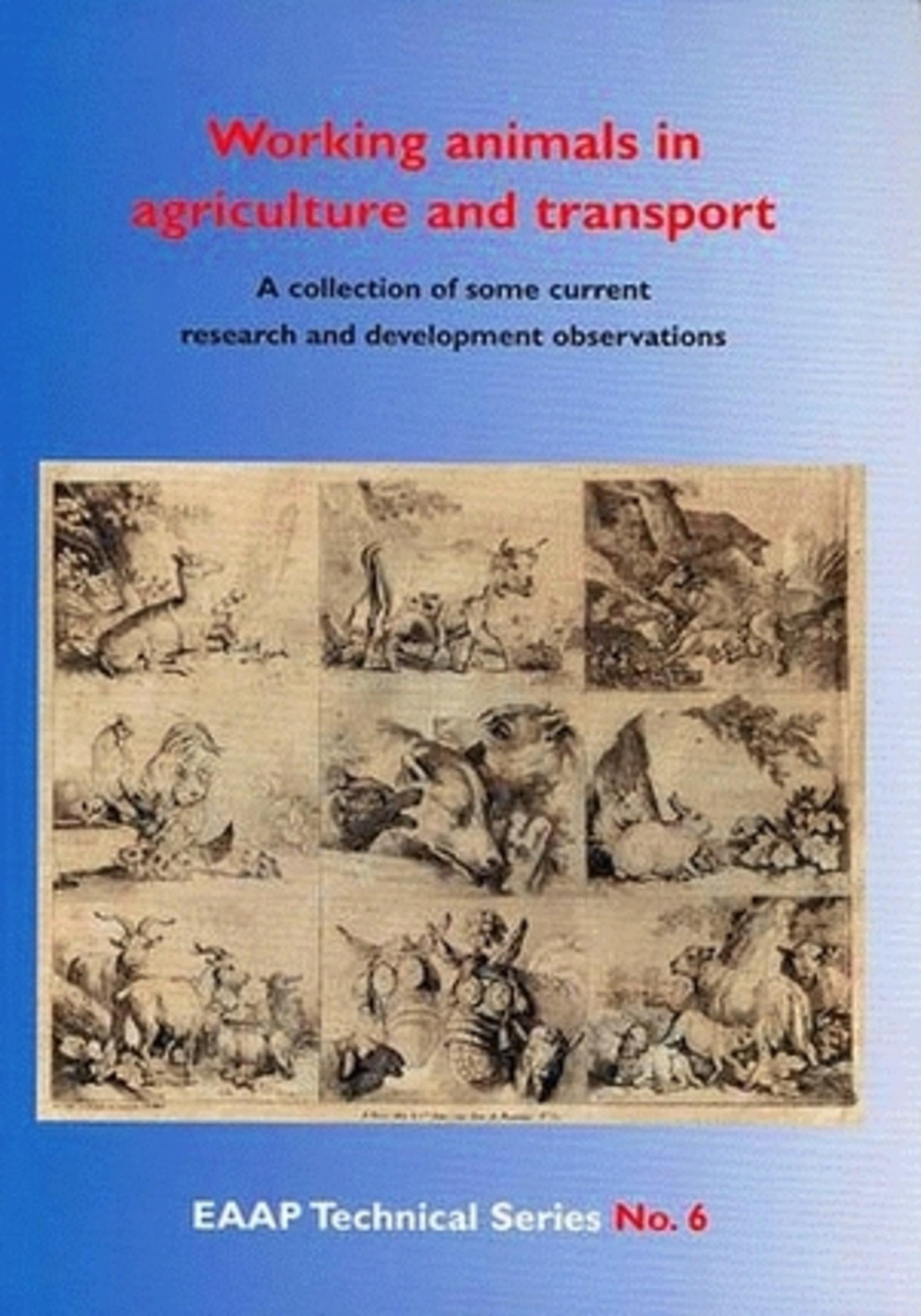 WORKING ANIMALS IN AGRICULTURE AND TRANSPORT - QUELQUES RESULTATS RECENTS DE LA