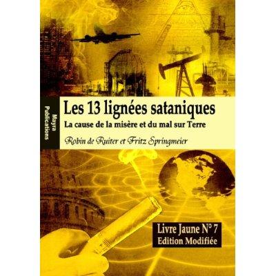 LES 13 LIGNEES SATANIQUES, LIVRE JAUNE N 7