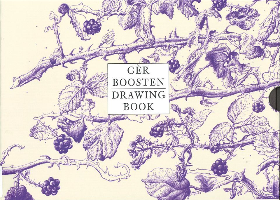 GER BOOSTEN, DRAWING BOOK