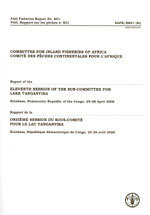 COMMITTEE FO INLAND FISHERIES OF AFRICA REPORT OF THE 11TH SESSION OF THE SUBCOMMITTEE FOR LAKE TANG