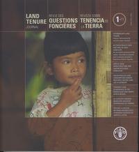 LAND TENURE JOURNAL N.1/11, MAY 2011/ REVUE DES QUESTIONS FONCIERES N.1/11, MAI 2011/REVISTA SOBRE T