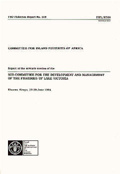 COMMITTEE FOR INLAND FISHERIES OF AFRICA REPORT OF THE SEVENTH SESSION OF THE SUBCOMMITTEE FOR THE D