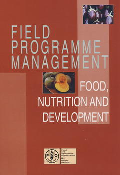 FIELD PROGRAMME MANAGEMENT: FOOD, NUTRITION & DEVELOPMENT