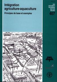 INTEGRATION AGRICULTUREAQUACULTURE PRINCIPES DE BASE ET EXEMPLES DOCUMENT TECHNIQUE SUR LES PECHE N