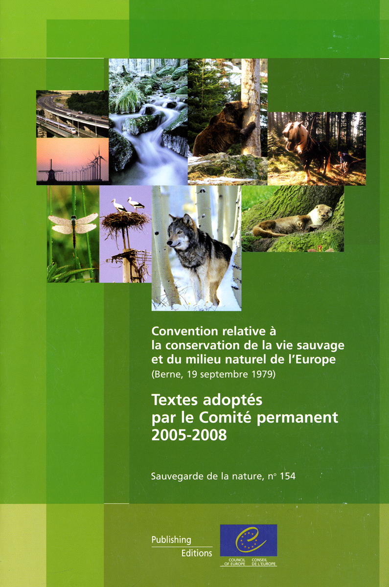 CONVENTION RELATIVE A LA CONSERVATION DE LA VIE SAUVAGE ET DU MILIEU NATUREL DE