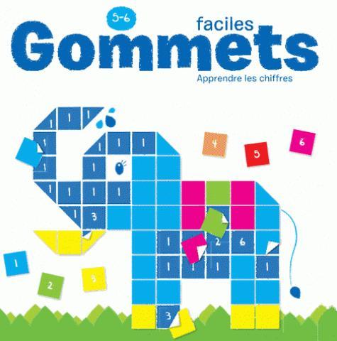 5-6 ANS GOMMETTES FACILES