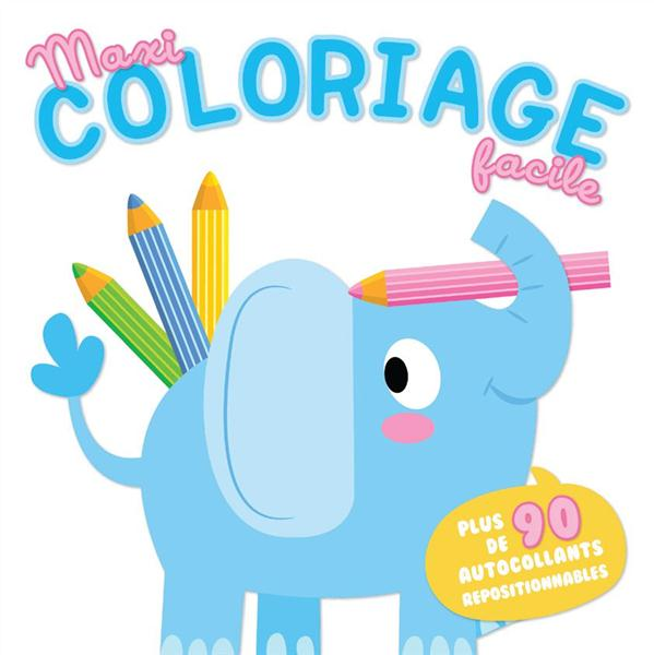 ELEPHANT - MAXI COLORIAGE