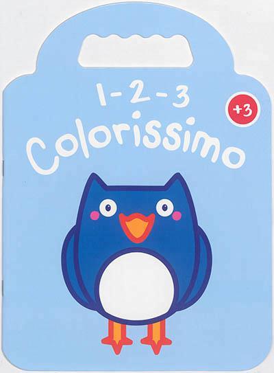 1 2 3 COLORISSIMO HIBOU +3