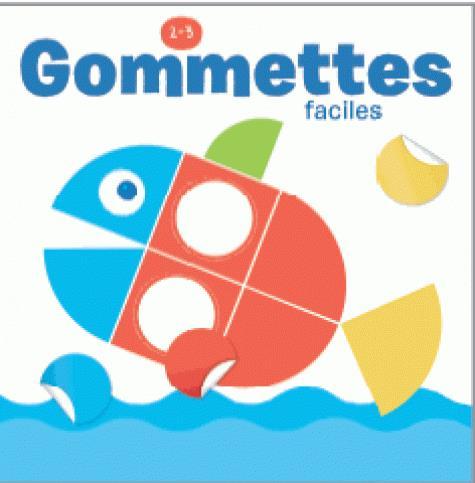 GOMMETTES 2-3 ANS FACILES POISSON