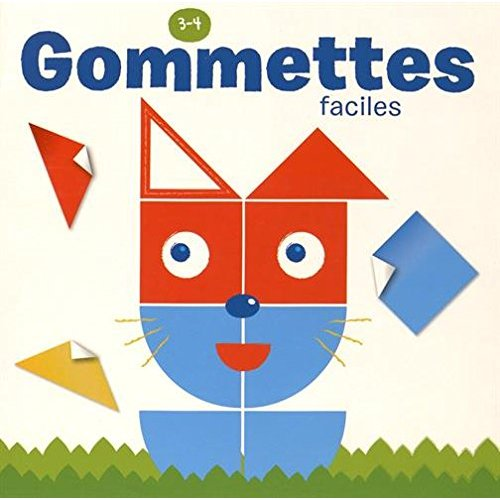 GOMMETTES 3-4 ANS FACILES CHAT