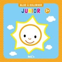 BLOC A COLORIER JUNIOR DES 2 ANS (SOLEIL)