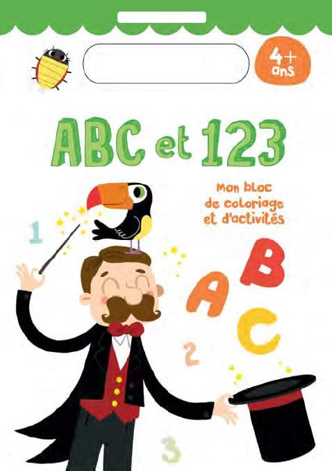 4+ ABC ET 123 MAGICIEN