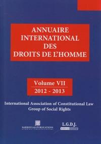 ANNUAIRE INTERNATIONAL DES DROITS DE L'HOMME VII 2012-2013