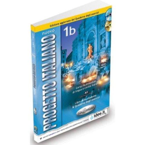 NUOVO PROGETTO ITALIANO / 1 (A1-A2) / 1B (A2) ELEVE+EX+CD+DVD