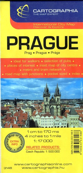 PRAGUE (PLAN CARTOGRAPHIA)