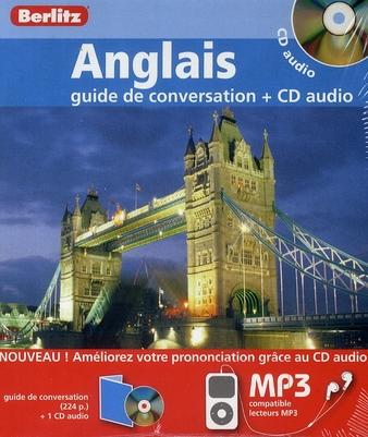 ANGLAIS COFFRET GUIDE DE CONVERSATION + 1 CD AUDIO