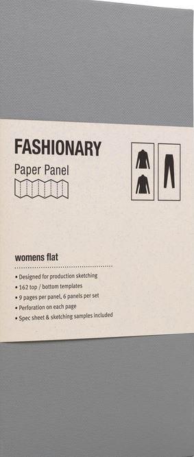 PAPER PANEL WOMENS FLAT /ANGLAIS