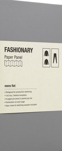 PAPER PANEL MENS FLAT /ANGLAIS