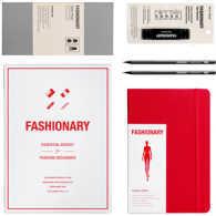 FASHIONARY ESSENTIAL BOXSET RED COLOR VERSION /ANGLAIS