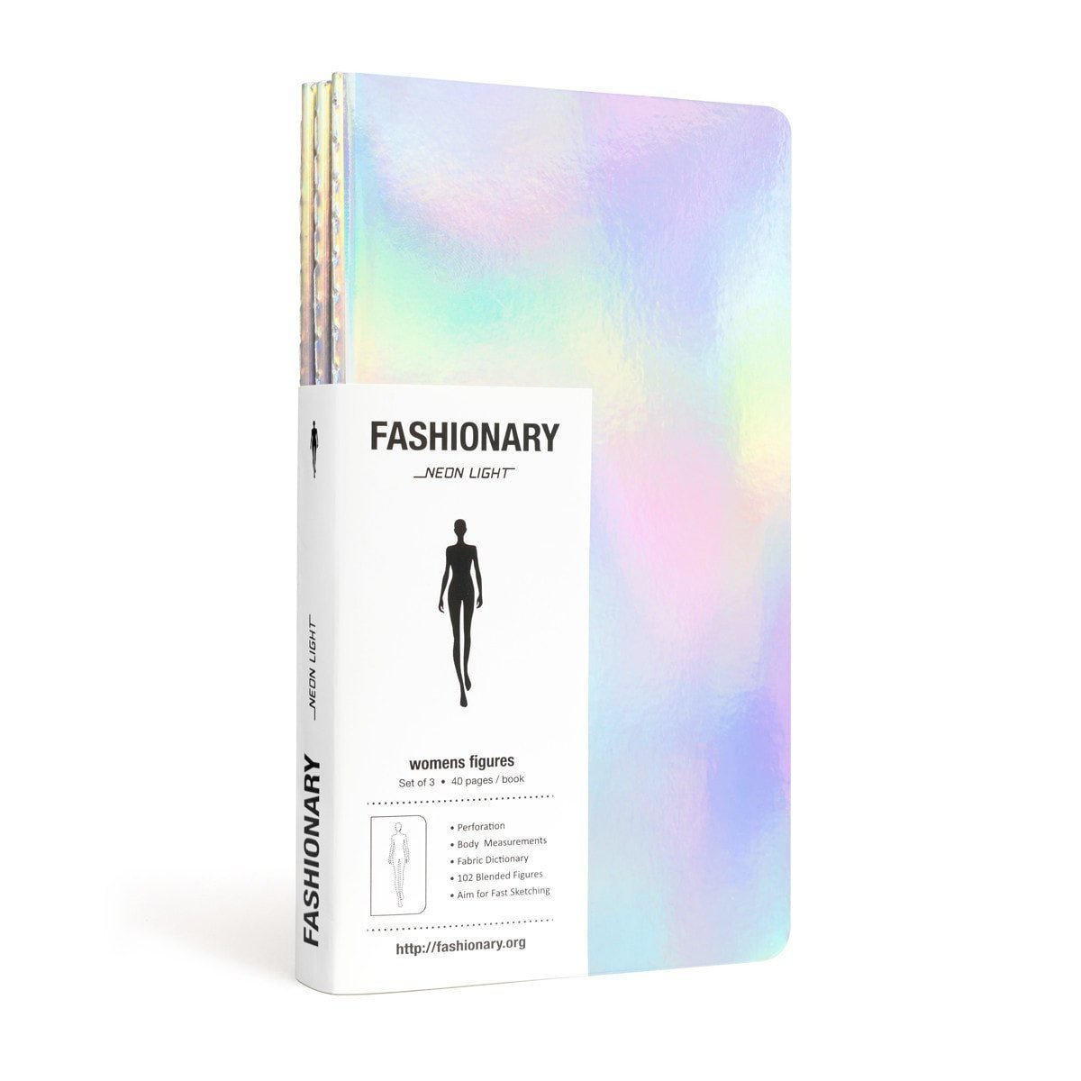 FASHIONARY NEON LIGHT WOMEN (3 IN A PACK) /ANGLAIS