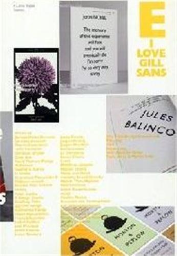 I LOVE TYPE 05 - GILL SANS /ANGLAIS