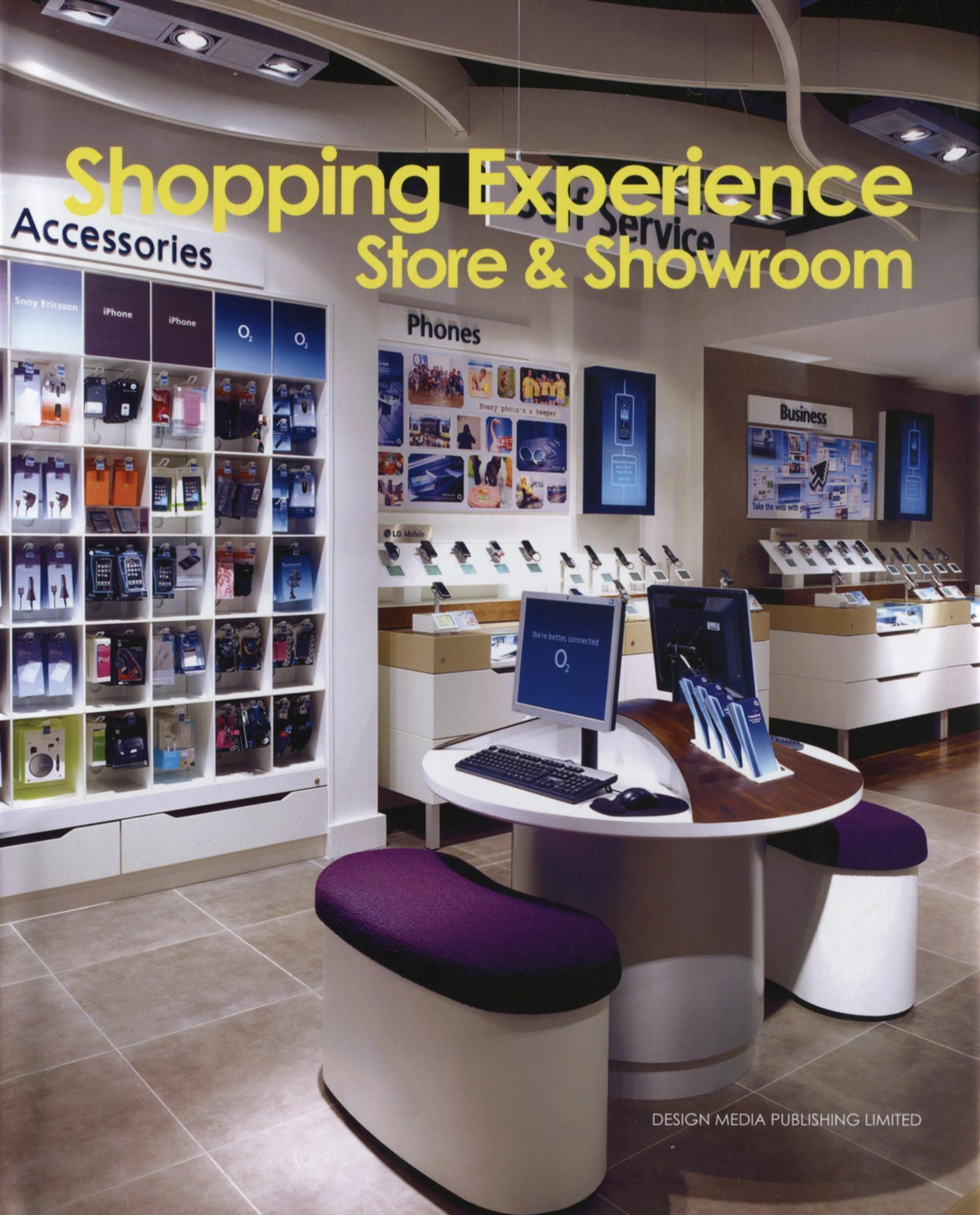 SHOPPING EXPERIENCE. STORE AND SHOWROOM - STORE & SHOWROOM.