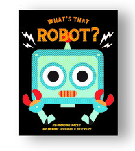 WHAT'S THAT ROBOT? /ANGLAIS