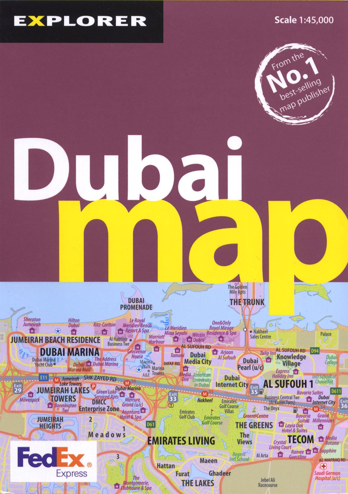 **DUBAI MAP