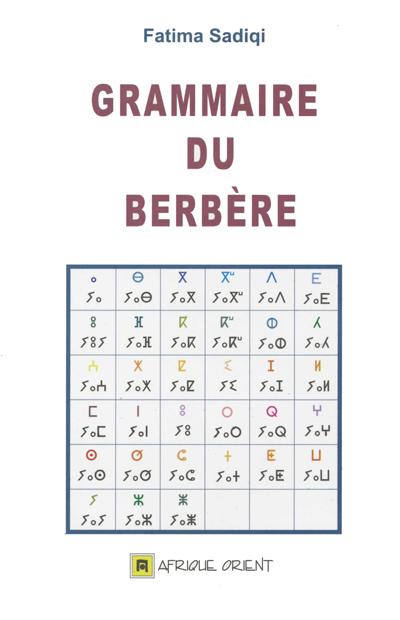 GRAMMAIRE DU BERBERE