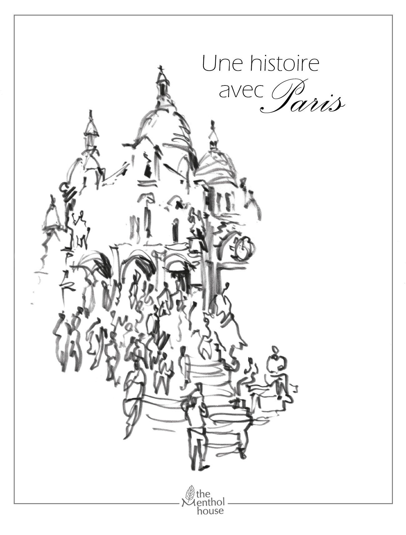 UNE HISTOIRE AVEC PARIS -SACRE COEUR