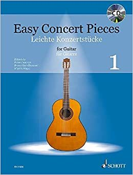 EASY CONCERT PIECES BAND 1 GUITARE +CD