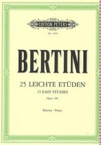 ETUDES(25) OP.100 PIANO