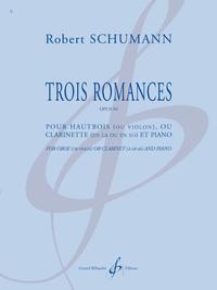 TROIS ROMANCES OPUS 94