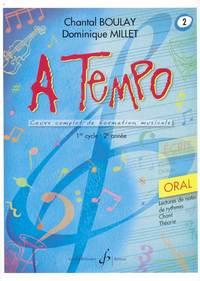 A TEMPO - PARTIE ORALE - VOLUME 2