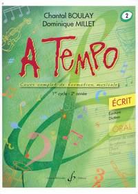 A TEMPO - PARTIE ECRITE - VOLUME 2