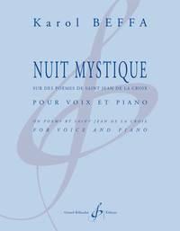 NUIT MYSTIQUE - VOIX ET PIANO
