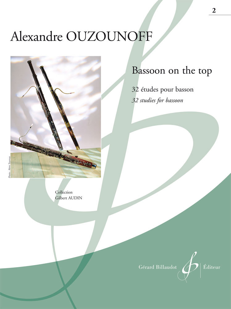 BASSOON ON THE TOP VOLUME 2--32 ETUDES