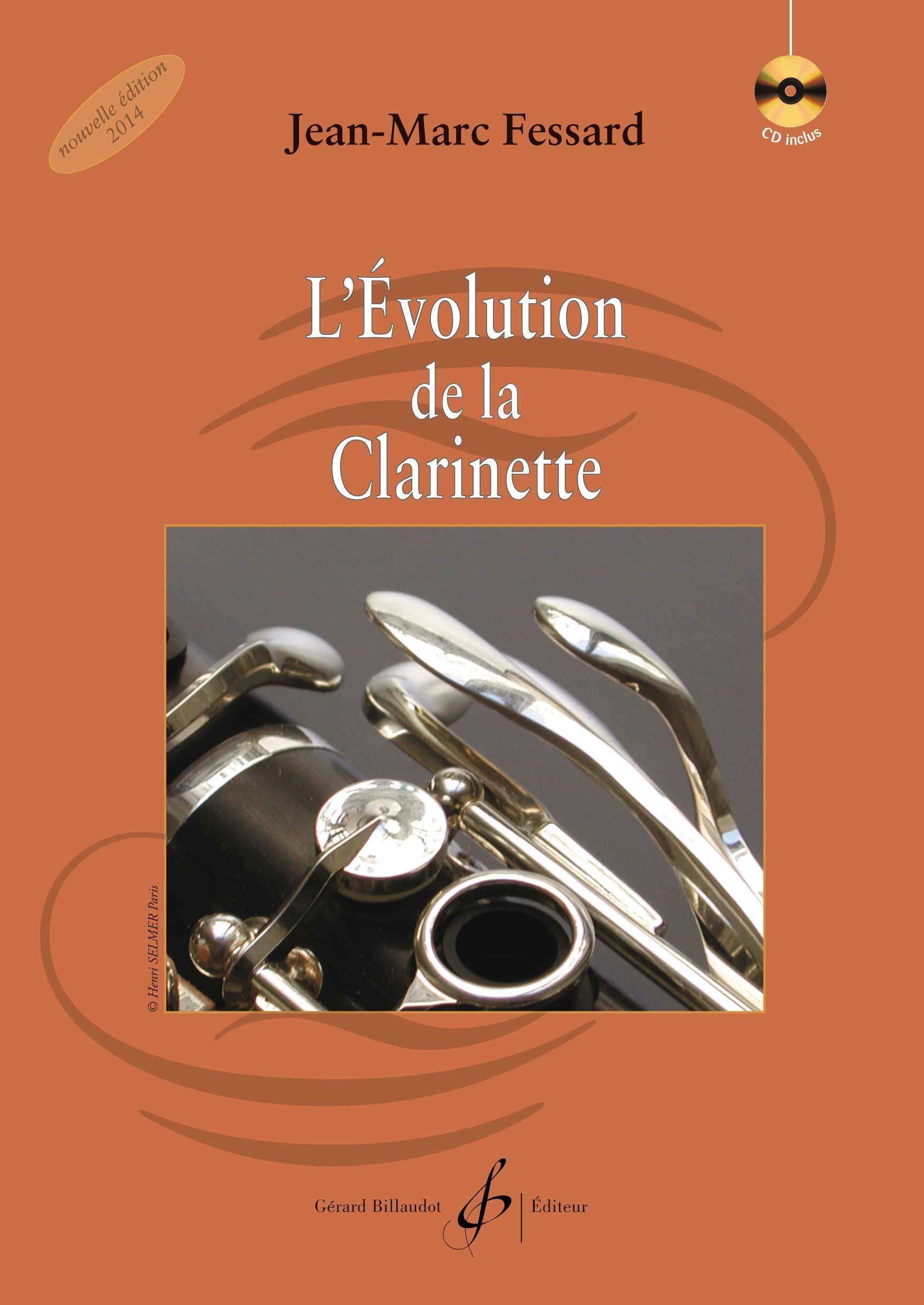 L'EVOLUTION DE LA CLARINETTE - CD OFFERT