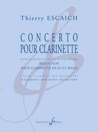 CONCERTO POUR CLARINETTE - REDUCTION