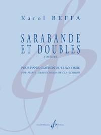 SARABANDE ET DOUBLES - 2 PIECES