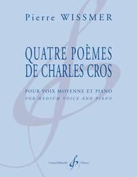 QUATRE POEMES DE CHARLES CROS